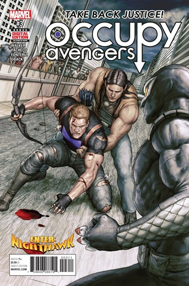 Occupy Avengers Cover - 3/1/2017