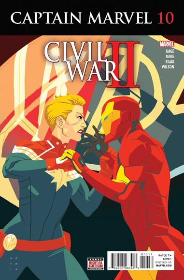 Captain Marvel Cover - 12/1/2016