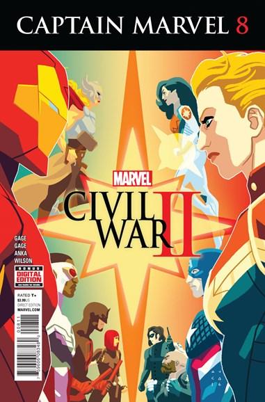 Captain Marvel Cover - 10/1/2016