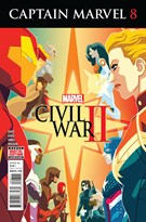 Captain Marvel Comic 10/1/2016