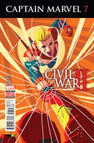 Captain Marvel Comic 9/1/2016