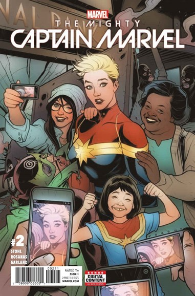 Captain Marvel Cover - 4/1/2017