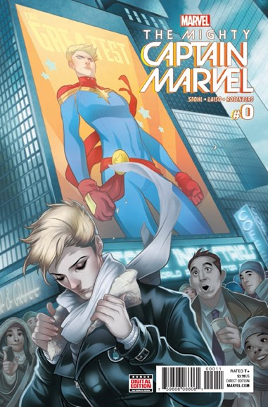 Captain Marvel Cover - 2/1/2017
