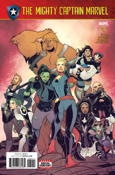 Captain Marvel Cover - 7/1/2017