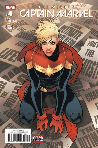 Captain Marvel Cover - 6/1/2017