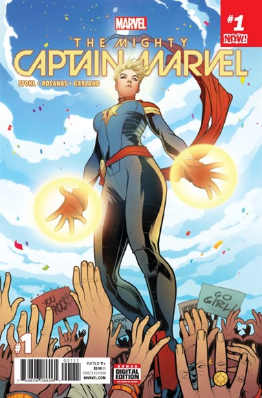 Captain Marvel Cover - 3/1/2017
