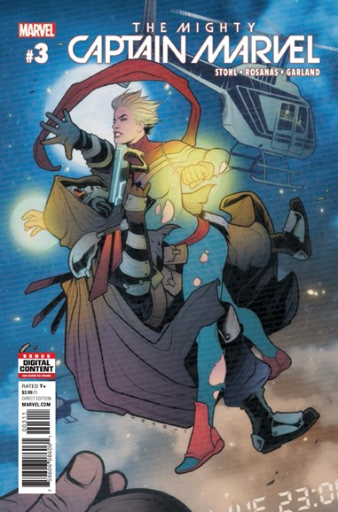 Captain Marvel Cover - 5/1/2017