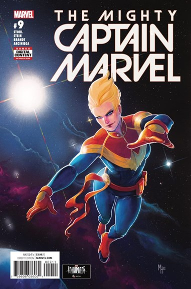 Captain Marvel Cover - 11/1/2017