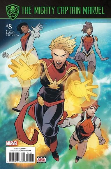 Captain Marvel Cover - 10/1/2017