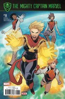 Captain Marvel Comic 10/1/2017