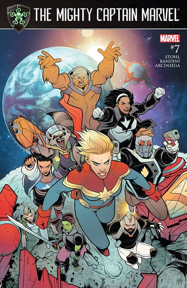 Captain Marvel Cover - 9/1/2017