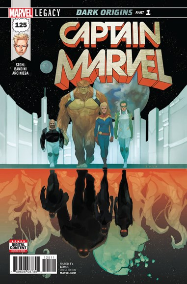 Captain Marvel Cover - 12/1/2017