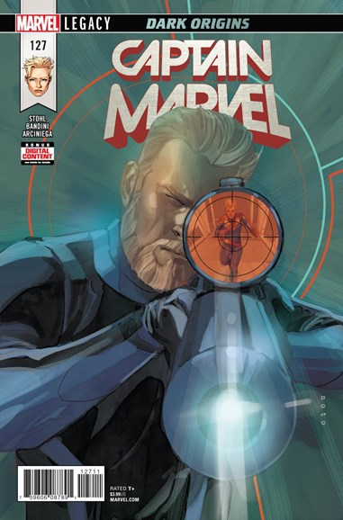Captain Marvel Cover - 2/1/2018