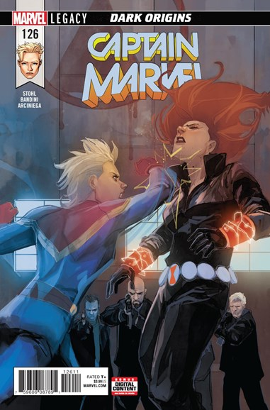 Captain Marvel Cover - 1/1/2018