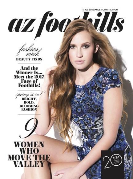 Arizona Foothills Cover - 3/1/2017