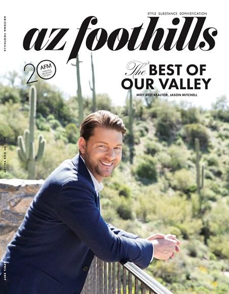 Arizona Foothills Cover - 4/1/2017