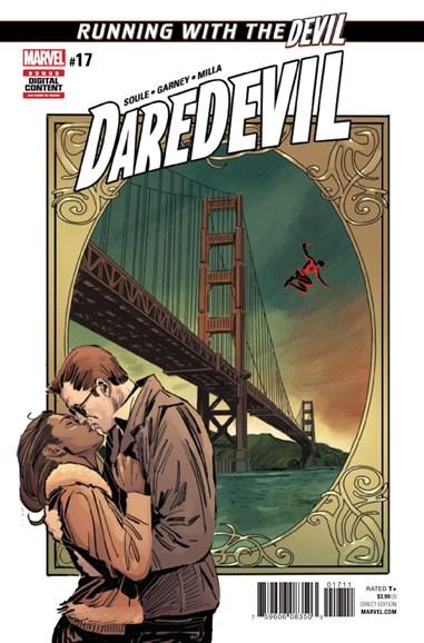 Daredevil Cover - 4/1/2017