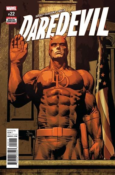 Daredevil Cover - 8/15/2017