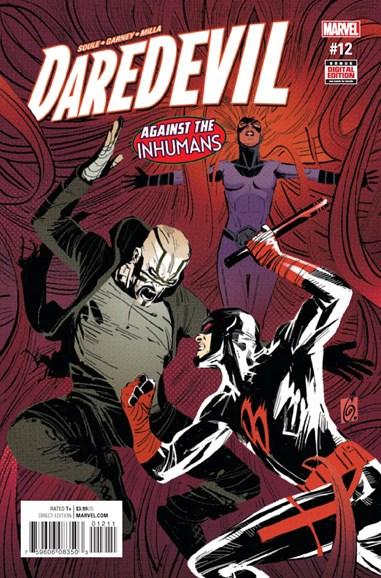 Daredevil Cover - 12/1/2016