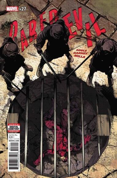 Daredevil Cover - 12/1/2017