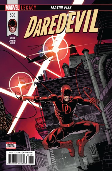 Daredevil Cover - 2/1/2018