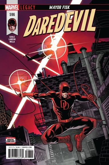 Daredevil Cover - 2/1/2018