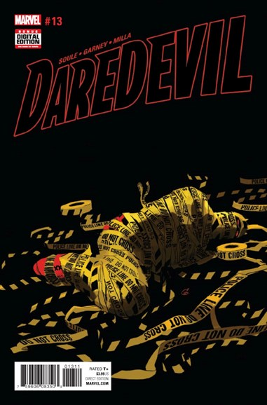 Daredevil Cover - 1/1/2017