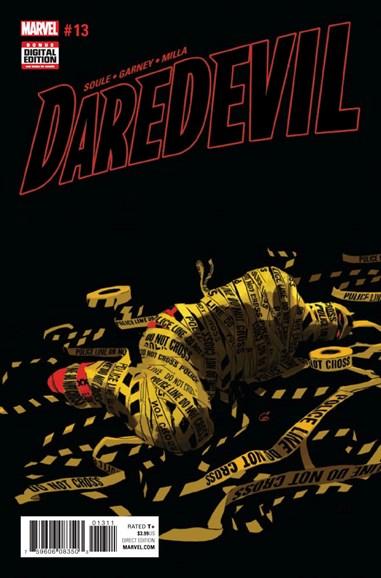 Daredevil Cover - 1/1/2017