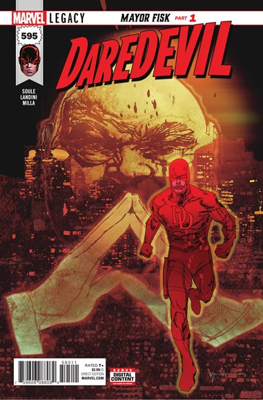 Daredevil Cover - 1/1/2018