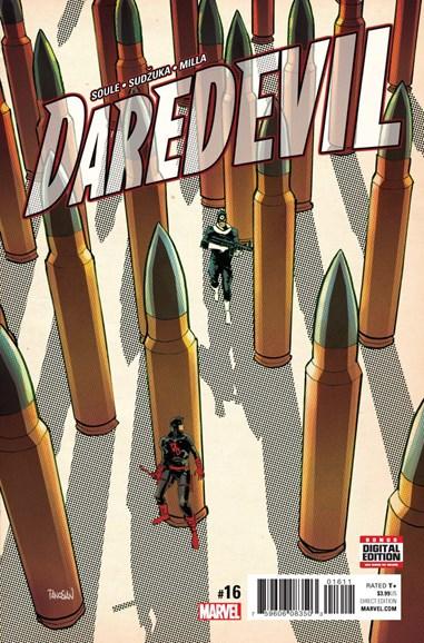 Daredevil Cover - 3/15/2017
