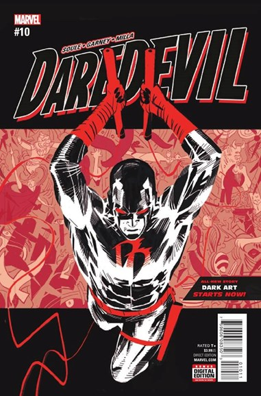 Daredevil Cover - 10/1/2016