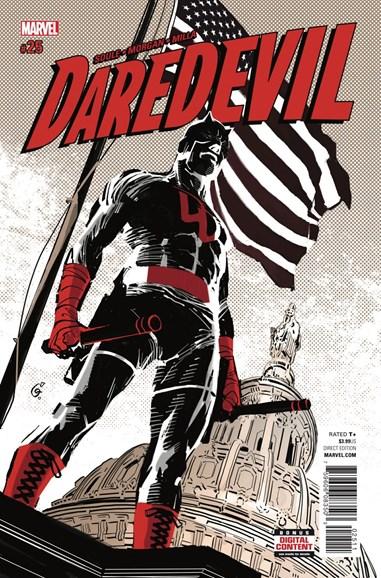 Daredevil Cover - 10/1/2017