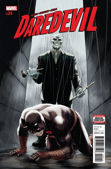 Daredevil Cover - 9/15/2017