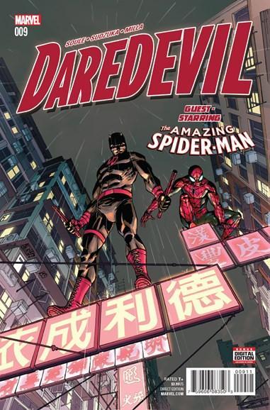Daredevil Cover - 9/1/2016