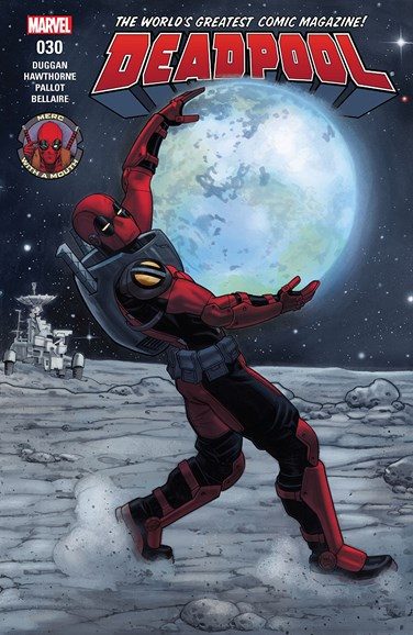 Deadpool Cover - 7/1/2017