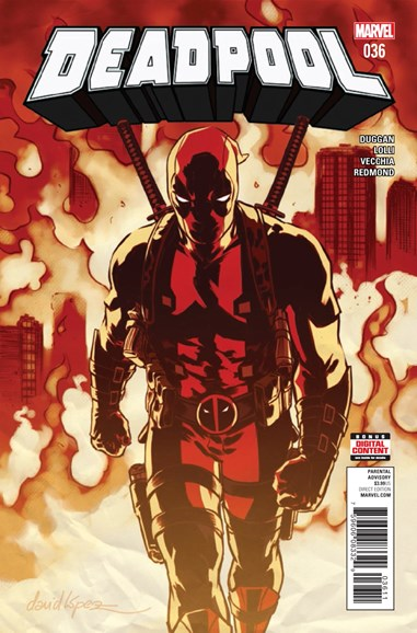 Deadpool Cover - 11/1/2017