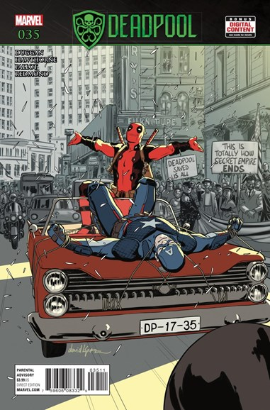 Deadpool Cover - 10/1/2017