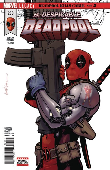 Deadpool Cover - 12/15/2017