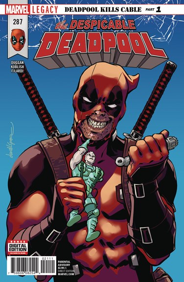 Deadpool Cover - 12/1/2017