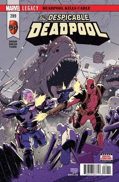 Deadpool Cover - 1/1/2018