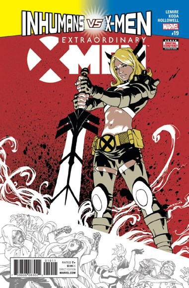 X-Men Gold Cover - 4/1/2017