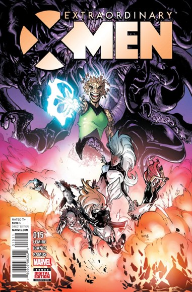 X-Men Gold Cover - 12/1/2016
