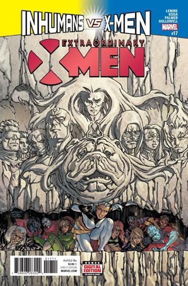 X-Men Gold Cover - 2/1/2017