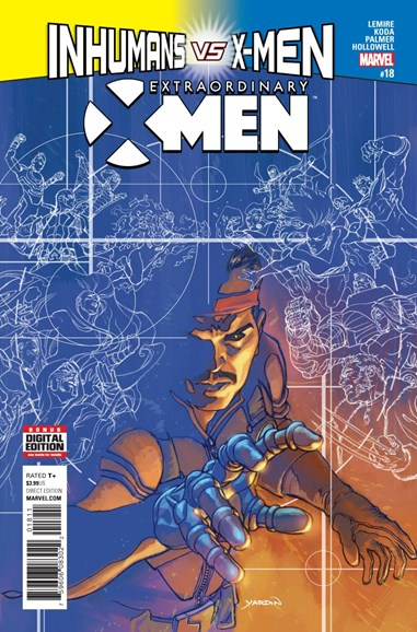 X-Men Gold Cover - 3/1/2017
