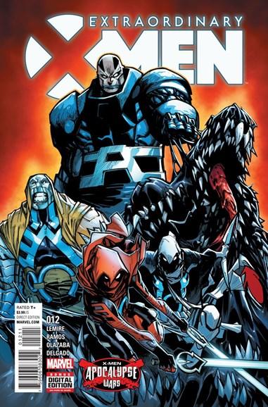 X-Men Gold Cover - 9/1/2016