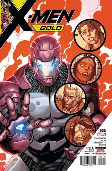 X-Men Gold Cover - 8/1/2017