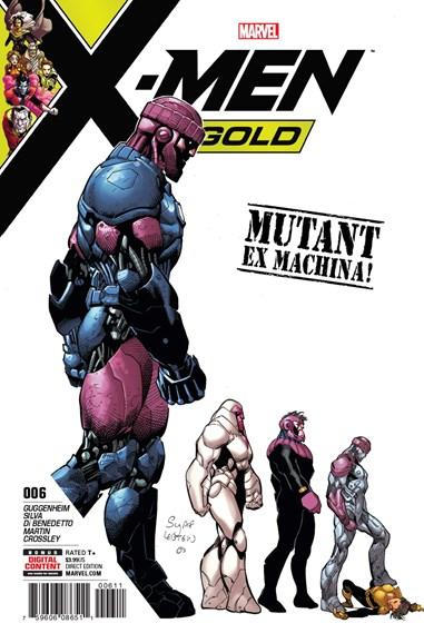 X-Men Gold Cover - 8/15/2017