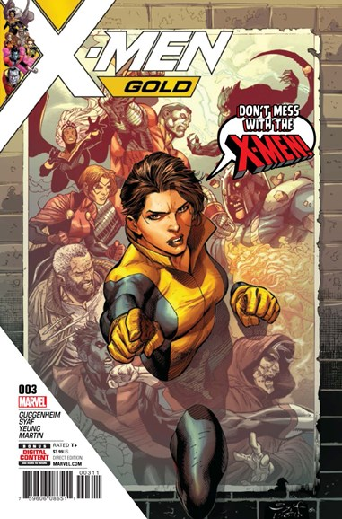 X-Men Gold Cover - 7/1/2017