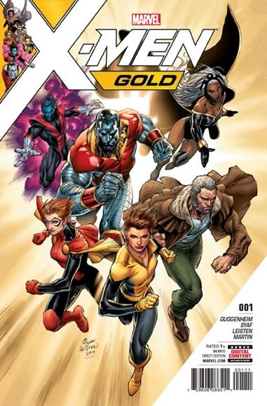 X-Men Gold Cover - 6/1/2017