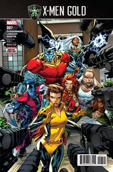 X-Men Gold Cover - 9/1/2017
